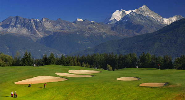 Crans Sur Sierre Golf Course