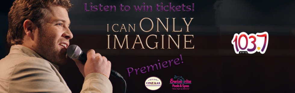 I Can Only Imagine: Premiere!