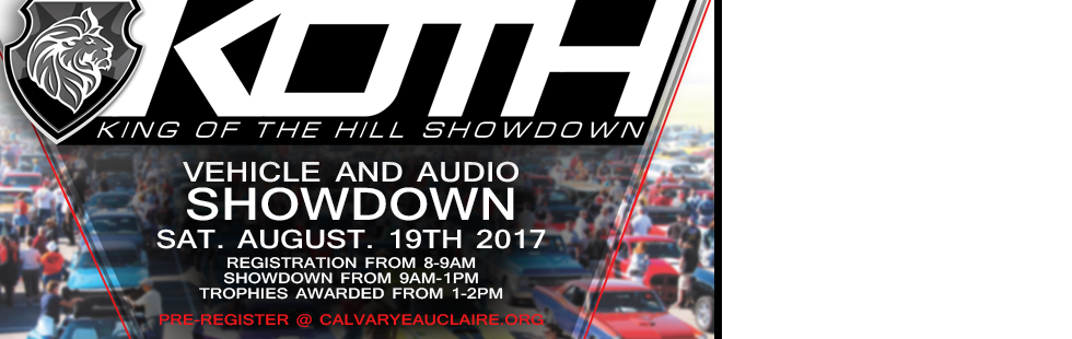 King of the Hill Car Show 2017!