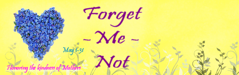 Forget-me-not May