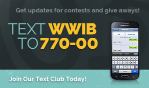 Text WWIB to 770-00 to join the text club