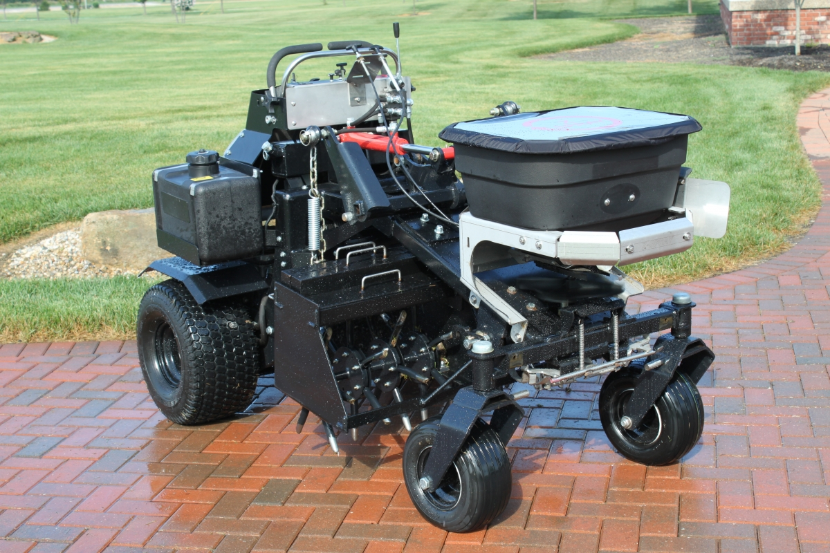 Aerator And Seeder : Commercial sprayers seeders aerators indiana z