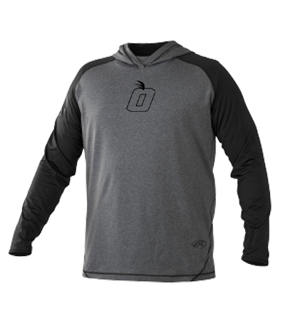 Orange Baseball Lightweight Hurler Hoodie by Rawlings