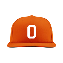 2021 Orange Baseball Team Hat by Zephyr (Throwback)