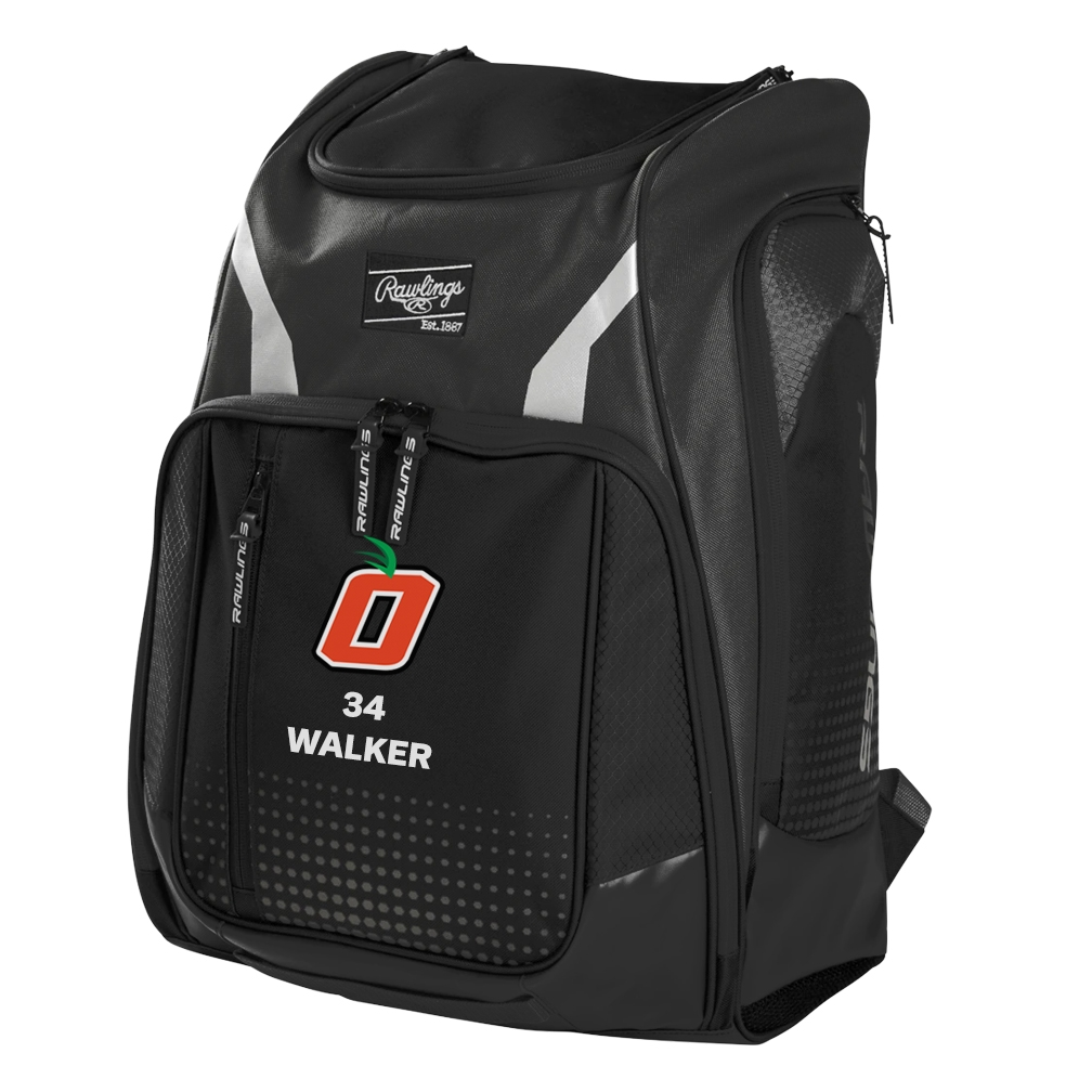 Orange Baseball Legion Backpack by Rawlings