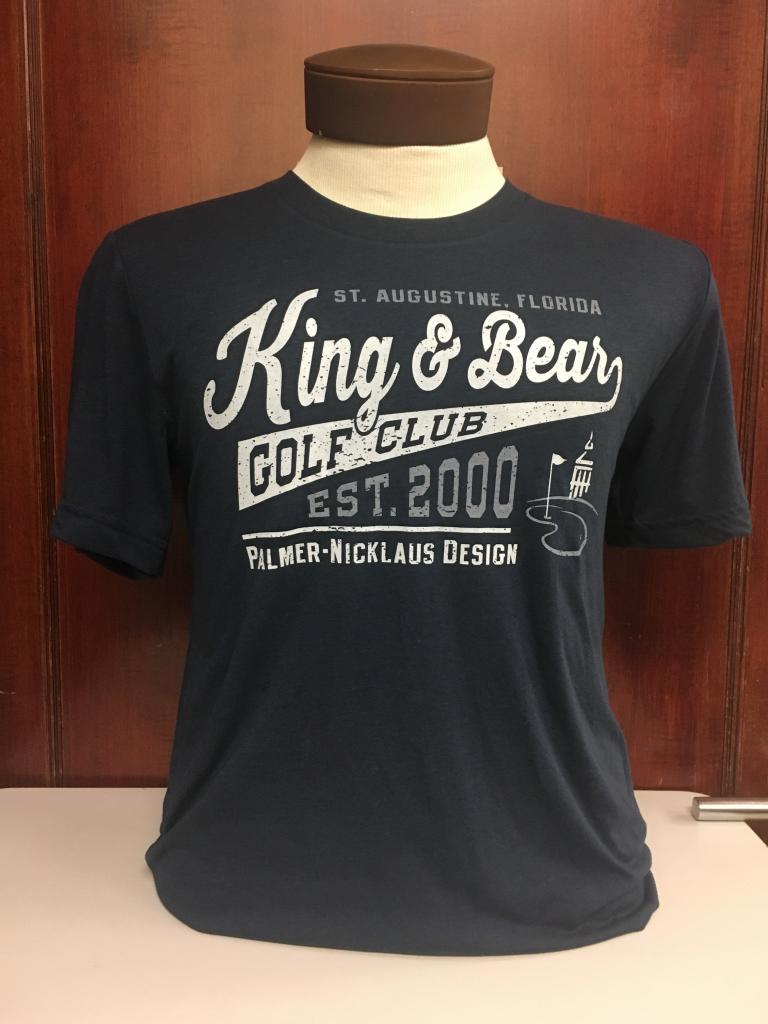 Men Classic Crew Neck Tee - King & Bear
