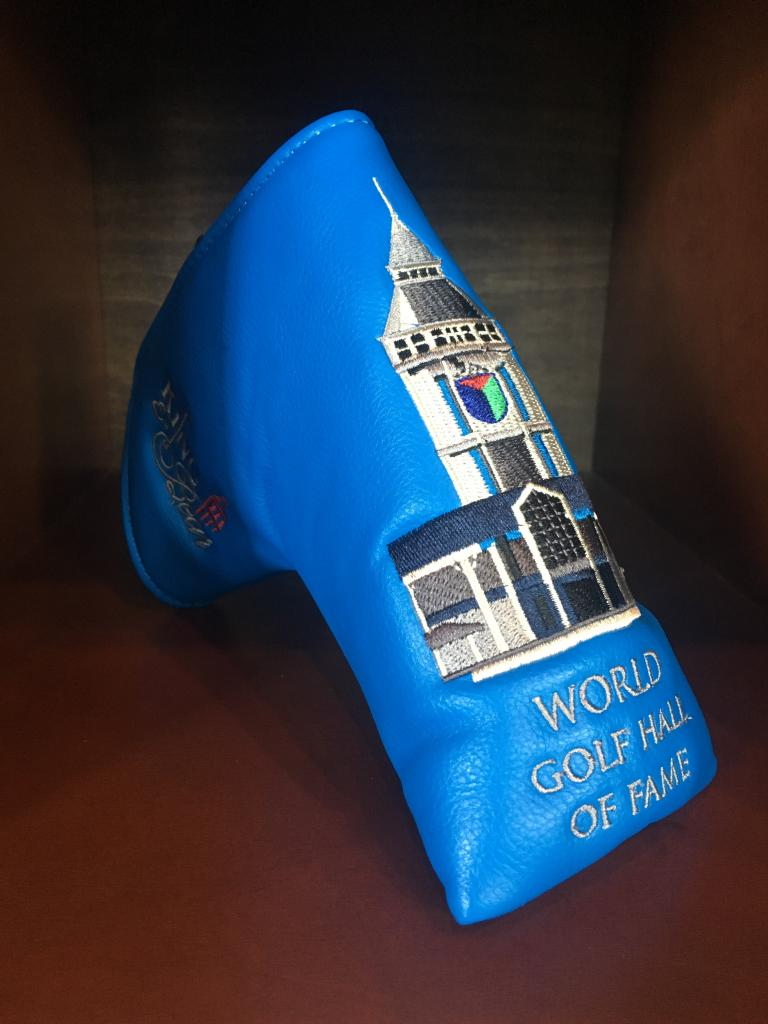 World Golf Hall of Fame Blade Putter Cover