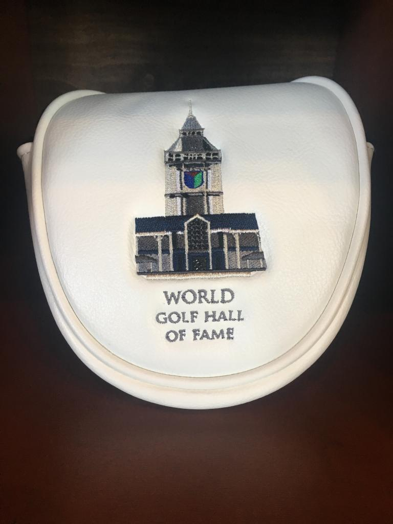 World Golf Hall of Fame Mallet Putter Cover