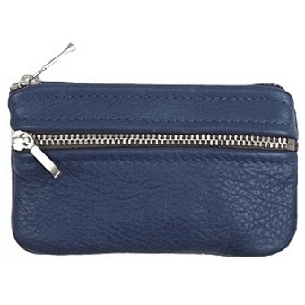 Double Zip Coin Pouch