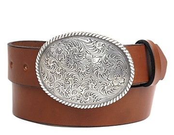 Plain Belt-Clarkdale Buckle-Canyon Brown