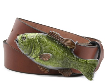 Plain Belt-Fish Tape Buckle-Canyon Brown