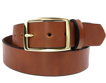 Double Thick Belt-Br.Rec-Canyon Brown