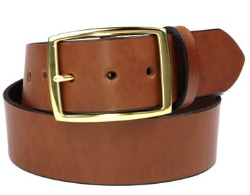 Double Thick Belt-Br. Rec-Canyon Brown