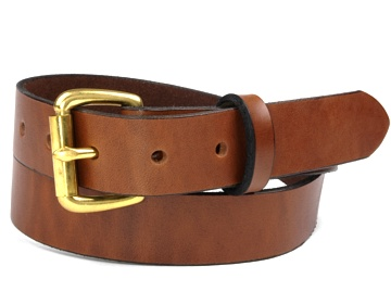 Double Thick Belt-Br. Roller-Canyon Brown