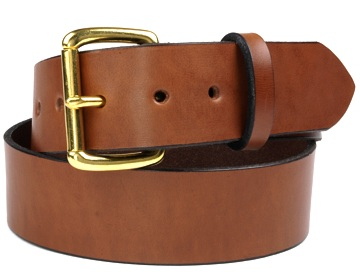 Double Thick Belt- Br.Roller-Canyon Brown