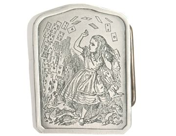 Alice with Cards Buckle