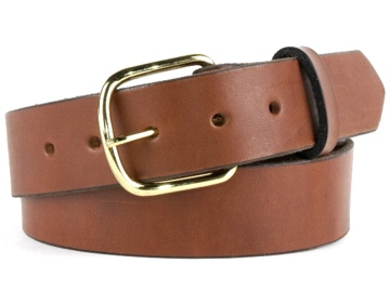 Double Thick Belt-Br.EndBar-Canyon Brown