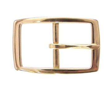 Brass Rectangle<BR>1 1/4""