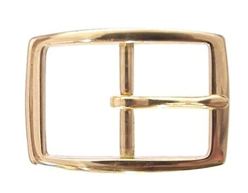 Brass Rectangle<BR>1 1/2""