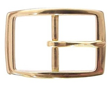Brass Rectangle<BR>1 3/4""