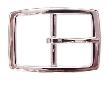 Silver Rectangle<BR>1 1/2""