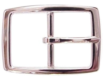 Silver Rectangle<BR>1 3/4""