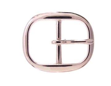 """Silver Oval<BR>1 1/2"""""""