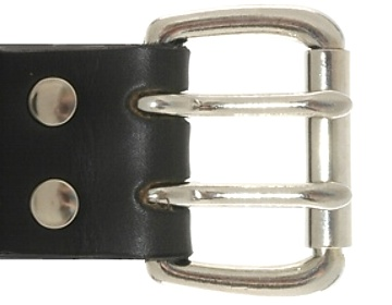 Silver 2 Prong Buckle<BR>2""
