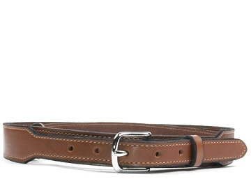 Taper Belt-Silver End Bar Buckle-Canyon Brown