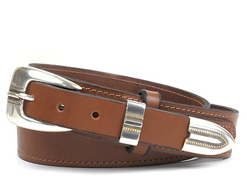 Western Belt-Austin Buckle-Canyon Brown