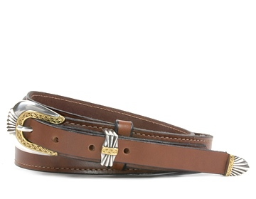 Western Belt-Del Rio Buckle-Canyon Brown
