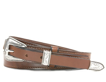 Western Belt-Odessa Buckle-Canyon Brown
