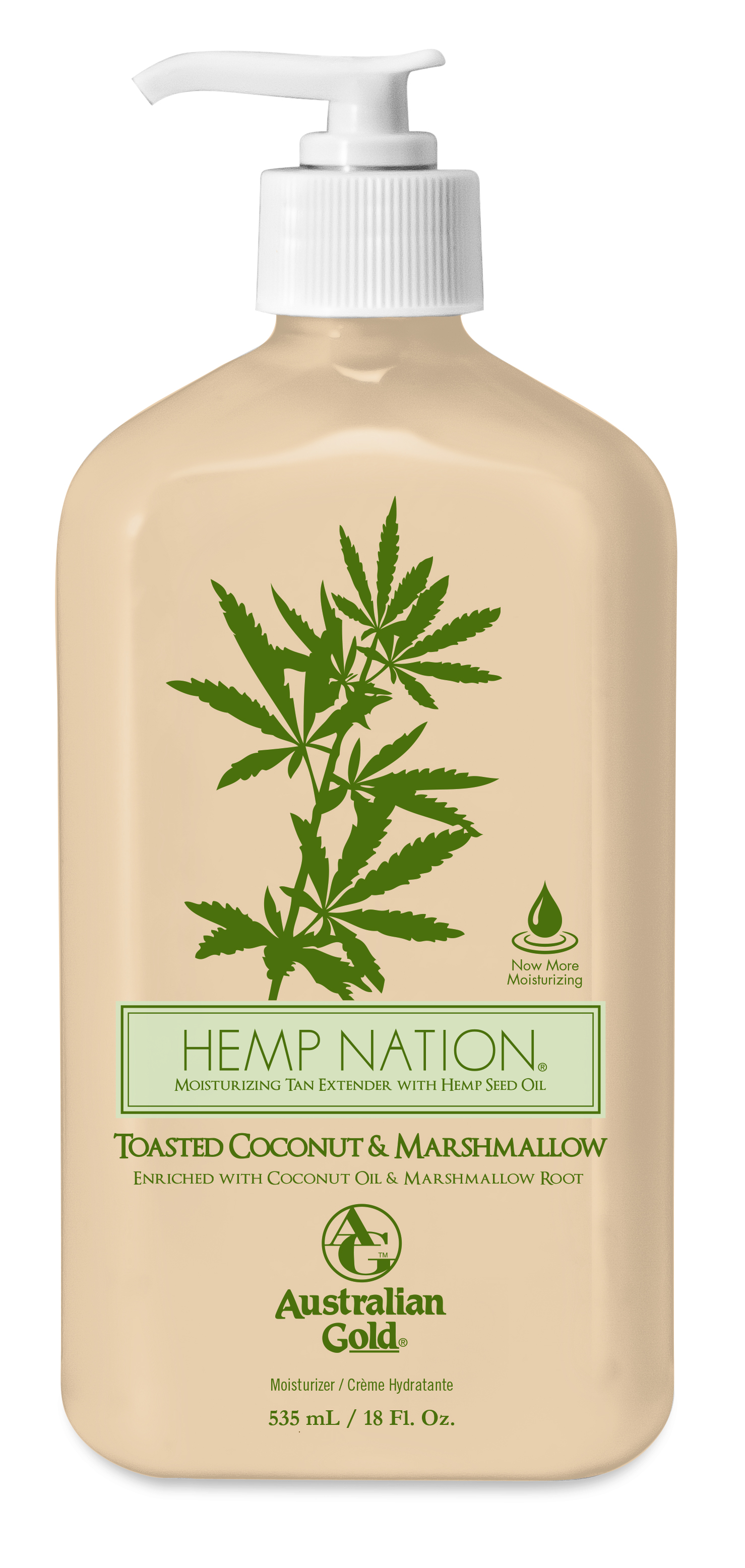 Hemp Nation® Toasted Coconut & Marshmallow