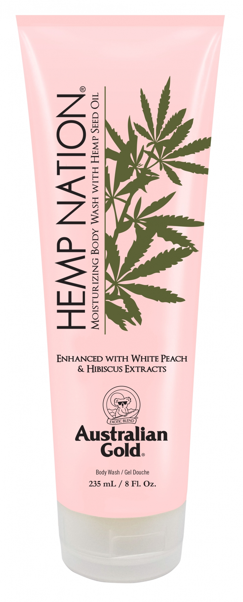 Hemp Nation® Sea Salt & Sandalwood Body Wash