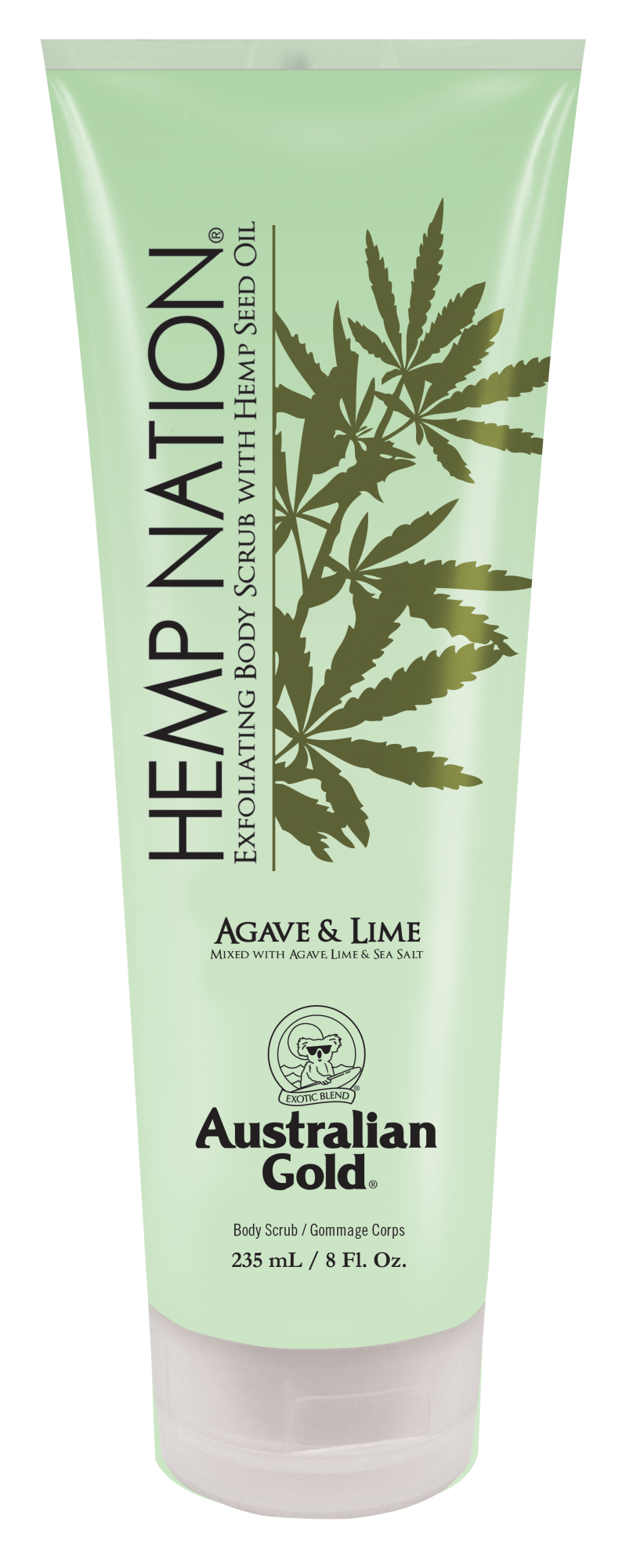 Hemp Nation® Agave & Lime Body Scrub