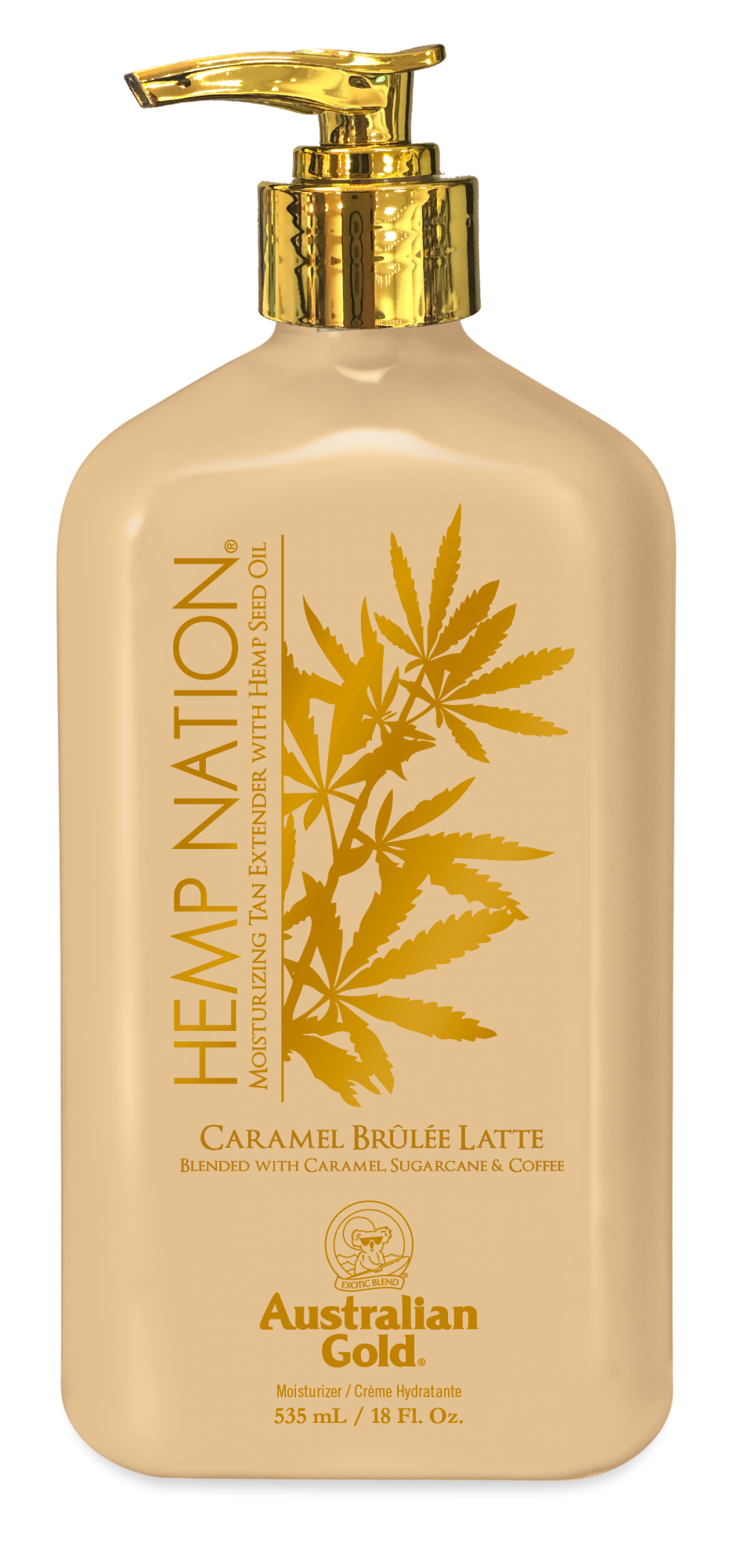 Hemp Nation® Caramel Brulee Latte