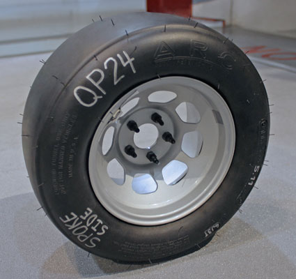 Auto Research Center ARC Indy Wind Tunnel Tire Technology Pneumatic Tires