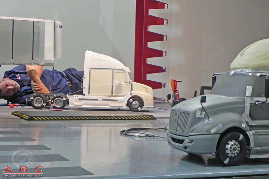 Auto Research Center ARC Indy Public Scale Wind Tunnel Models