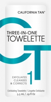 Three-in-One Towelette