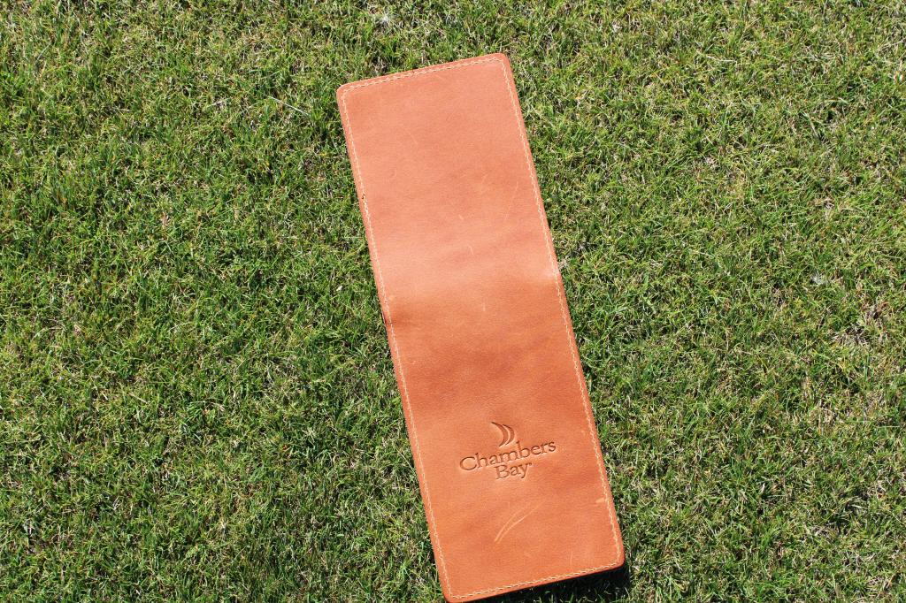 Seamus Leather Scorecard Holder