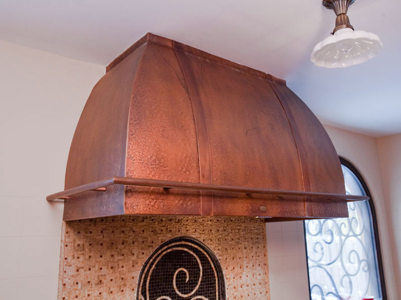 RH 1.0 Copper Range Hood