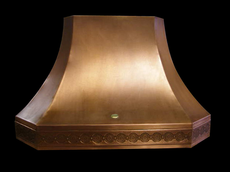 RH 2.1 Copper Range Hood