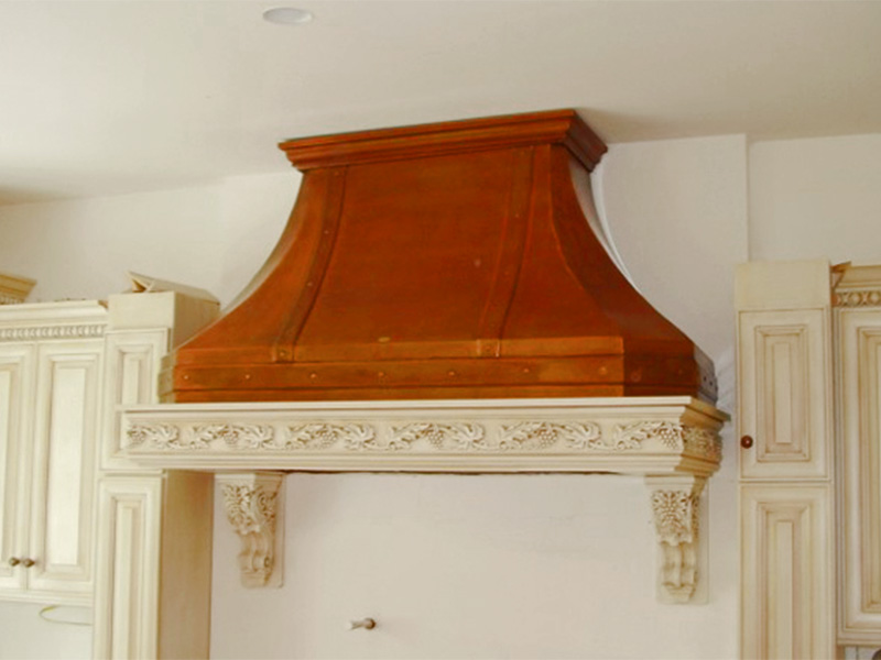 RH 2.2 Copper Range Hood
