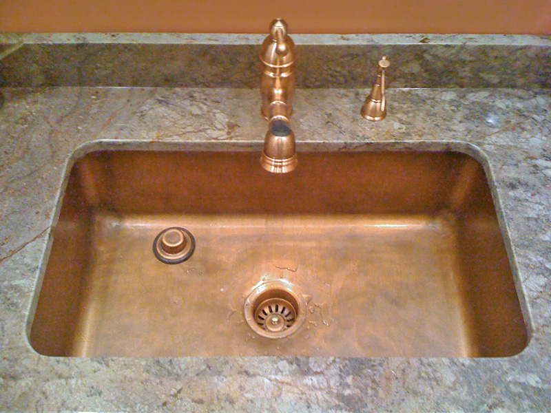 copper cocina kitchen sink web pc undermount native trails