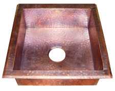 Superb CCCu0027s Two Styles Typical Copper Sinks