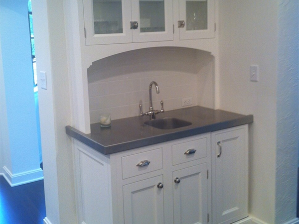 room and by cons cost countertops pros kitchen zinc countertop standard