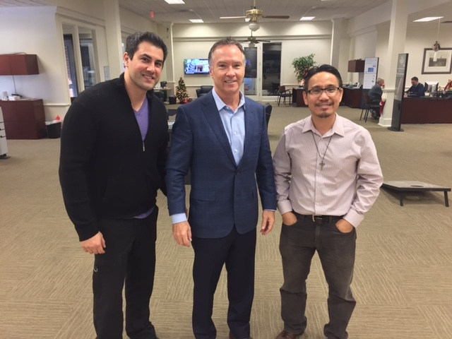 A Match is made in Plano, Texas - Dr. Dominic Hoang sells his practice to Dr. Shawn Nemovi.