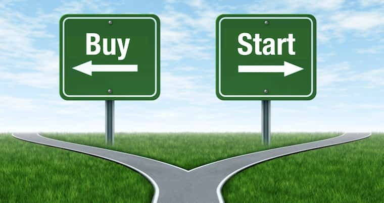 Starting vs Buying a Business