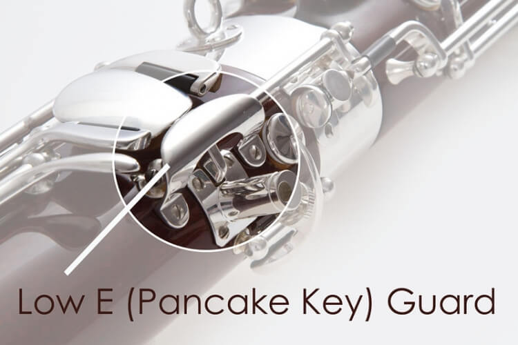 Pancake Key Guard, Silver Plated