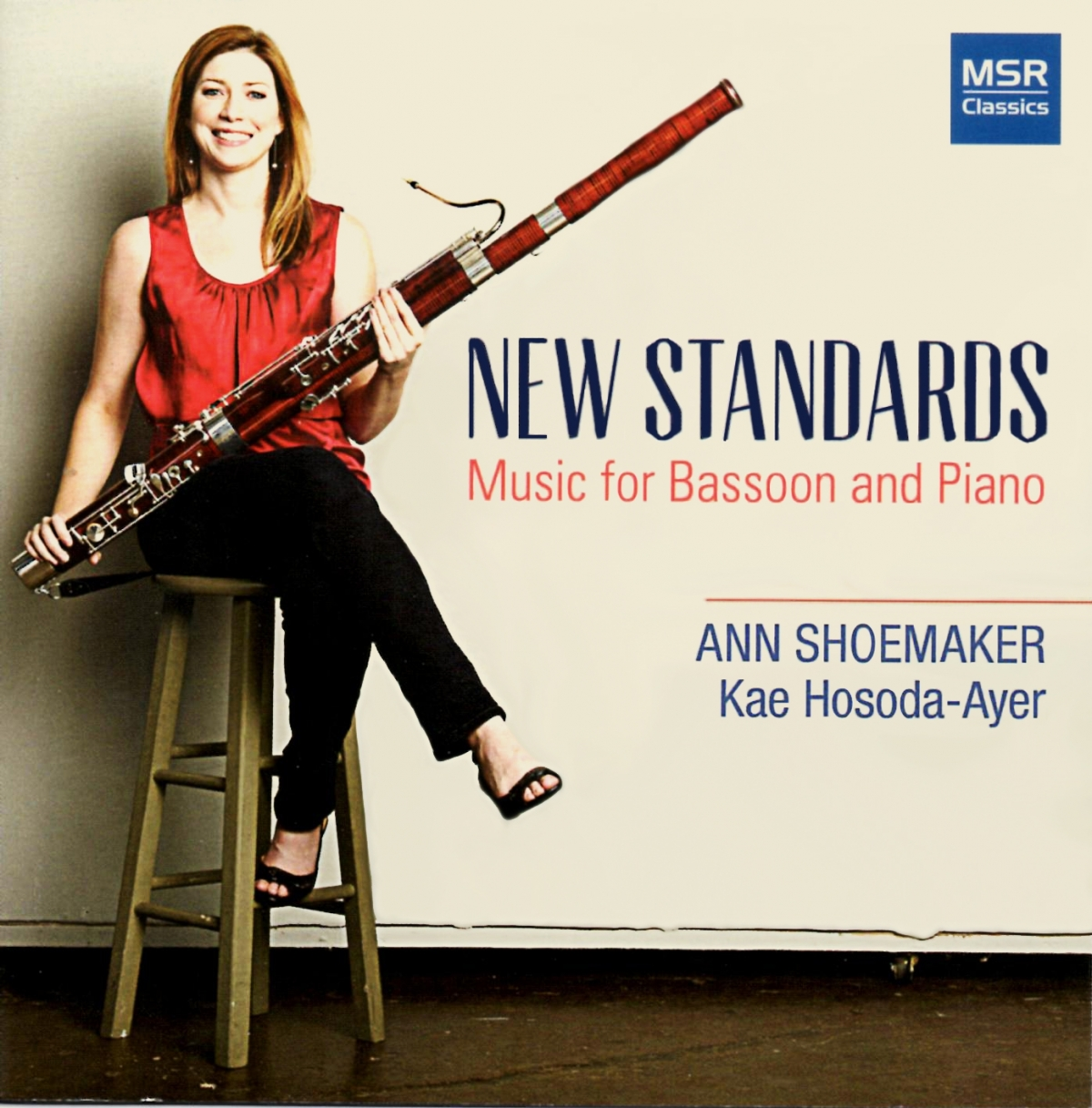 New Standards - Music for Bassoon and Piano by Ann Shoemaker